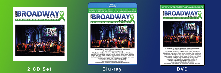 From Broadway With Love CD, DVD and BluRay